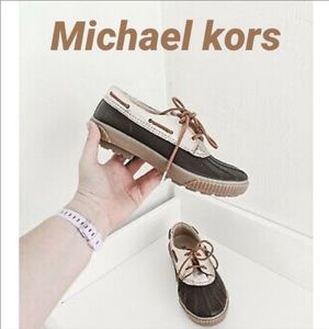 MICHAEL Michael Kors Hyde Waterproof Duck Shoe